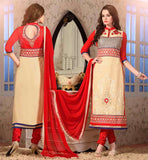 CHUDIDAR DRESS PATTERNS SUIT DESIGNS STYLISH SALWAR KAMEEZ WEARING