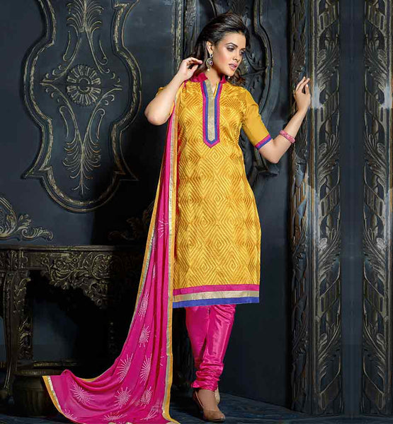 TRENDY 2015 PATTERN OFFICE WEAR ELEGANT SALWAR KAMEEZ DUPATTA SUITS