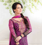 Zubeda Roshni Collection 2009 Elli Avram Black Magenta
