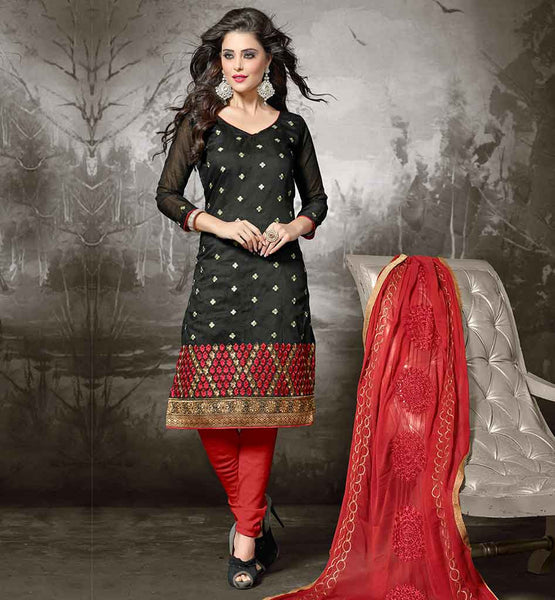 FROCK SUIT PATTERNS BEAUTIFUL DRESSES SHALWAR KAMEEZ DESIGNER DRESSES ONLINE BLACK KAMEEZ WITH RED COTTON SALWAR AND DUPATTA BEST SUITS COLLECTION