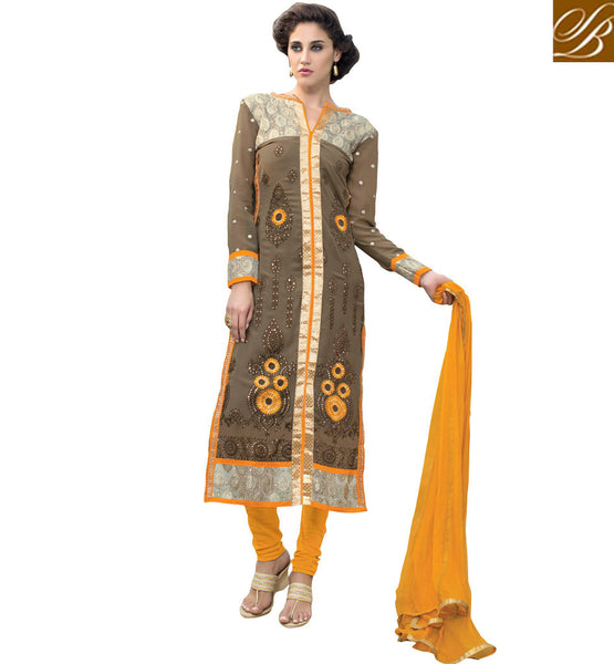 SHOP DESIGNER SALWAR KAMEEZ ONLINE SHOPPING  EXOTIC NEW DESIGN IN STRAIGHT CUT SALWAR KAMEES  2015