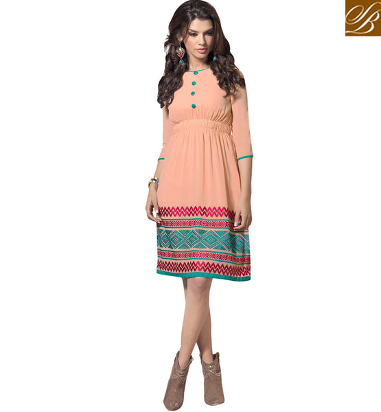 NICE DESIGNER KURTI DESIGN FOR A FRESH LOOK VDSCH2012