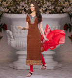 STYLISH DRESSES FOR WOMEN SALWAR KAMEEZ PATTERN PURE COTTON ATTIRE