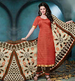 BHAGALPURI SALWAR KAMEEZ DRESS FOR OFFICE WEAR  STRAIGHT CUT DESIGNER SUIT WITH STUNNING DUPATTA