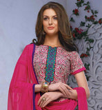 OUT-STANDING PURE COTTON SALWAR-SUIT WITH NAZNEEN DUPATTA