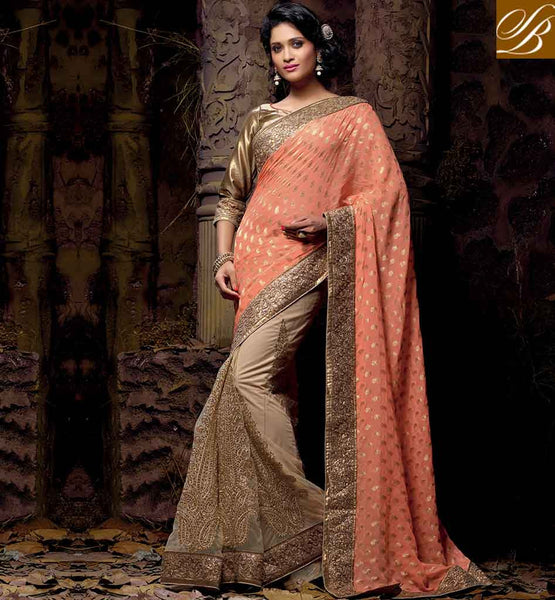 LATEST ONLINE WEDDING SAREE STYLISH DRAPING STYLES FOR WEDDING PARTY RTVRT2052A