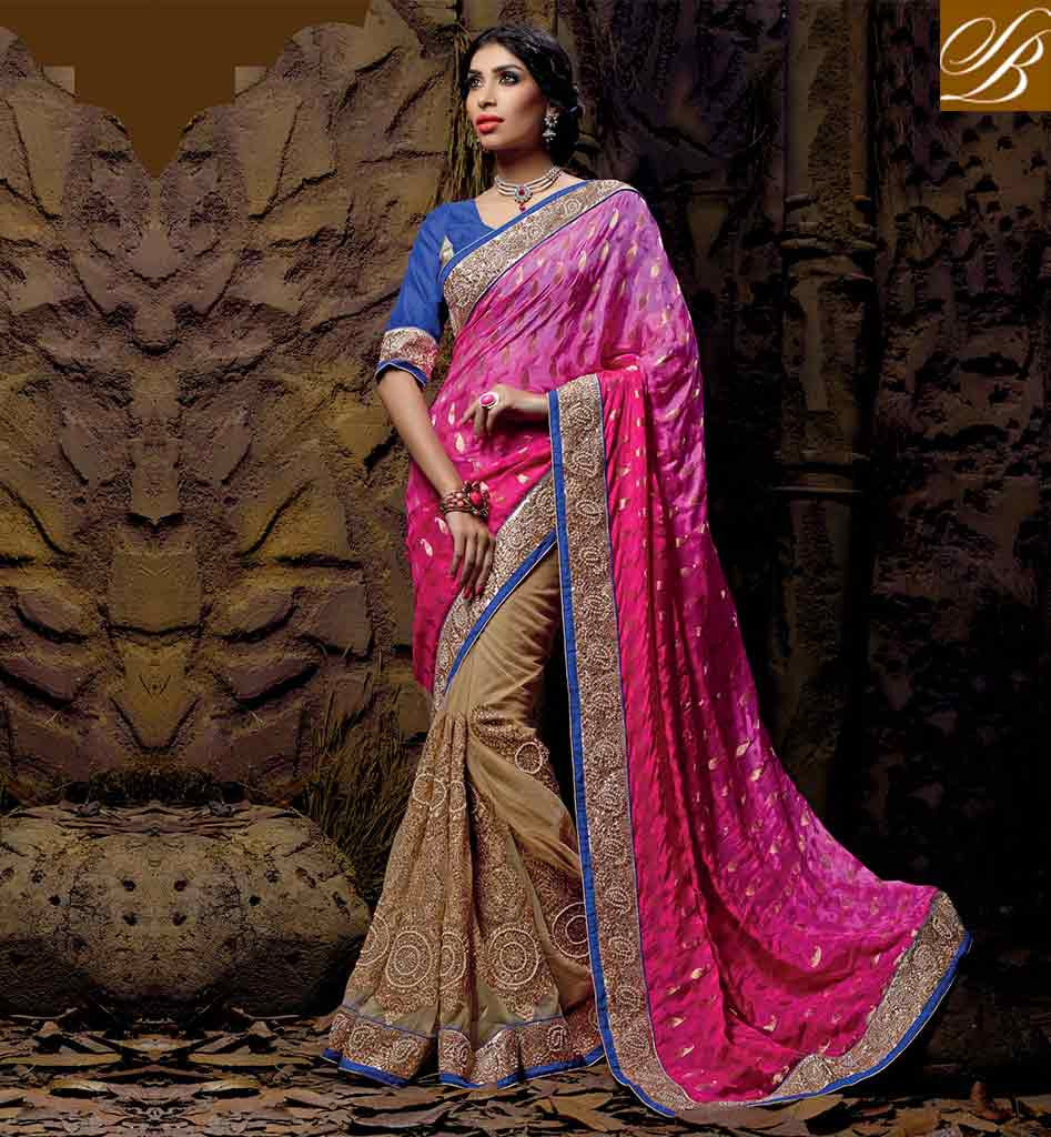 SOUTH INDIAN WEDDING SAREE BLOUSE DESIGNS ONLINE SHOPPING GORGEOUS EMBROIDERY DESIGNING STONE WORK LACE