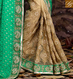 WONDERFUL ZARI WORK IN DESIGNING SAREE, EMBROIDERY DESIGNING BUTTA WITH PARI WORK, ALSO STONE WORK IN SARI AND LACE BORDER INDIAN WEDDING SAREE BLOUSE DESIGN FOR FASHIONISTA WOMEN