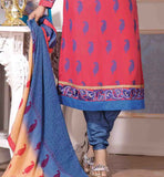 SHADED PARTY WEAR FAUX GEORGETTE STRAIGHT SALWAR KAMEEZ WITH DUPATTA