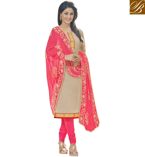 DASHING DIVA HINA KHAN AKA ASKHARA COTTON DRESS WITH PRINTED CHIFFON DUPATTA