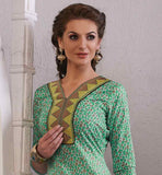 ADMIRABLE PURE COTTON SALWAR-SUIT WITH NAZNEEN DUPATTA