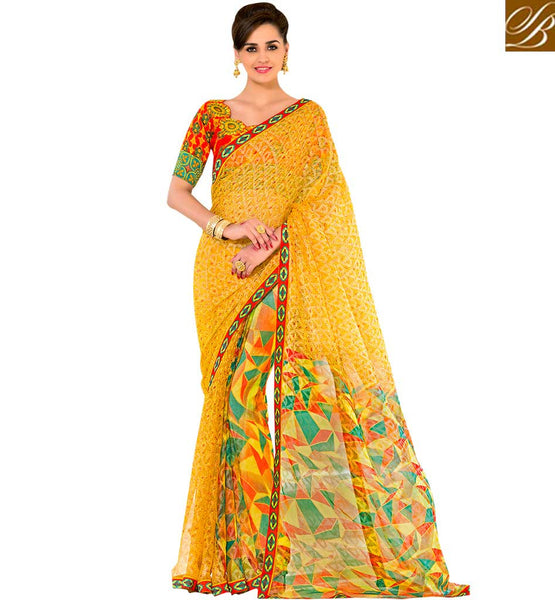 STYLISH BAZAAR INTRODUCES CAPTIVATING DESIGNER PRINTED SAREE RTSHN2085