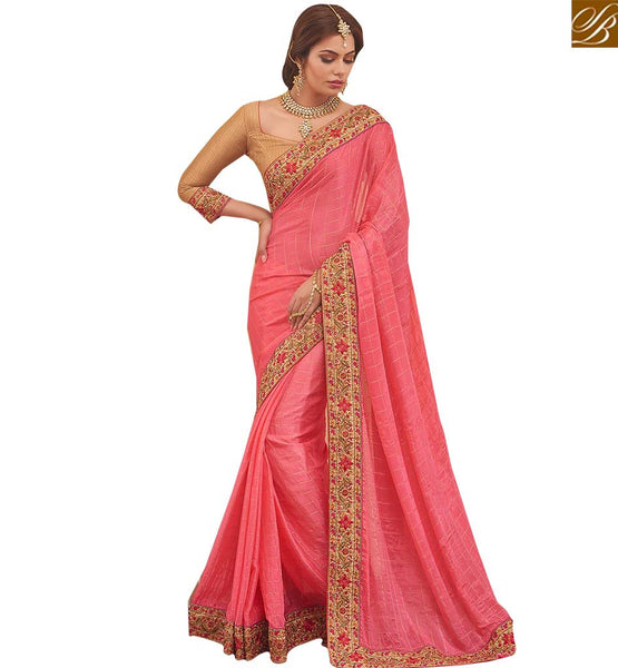 LOVELY PARTY WEAR DESIGNER SAREE RTBTQ208C