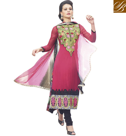 exclusive chiffon salwar kameez online for women