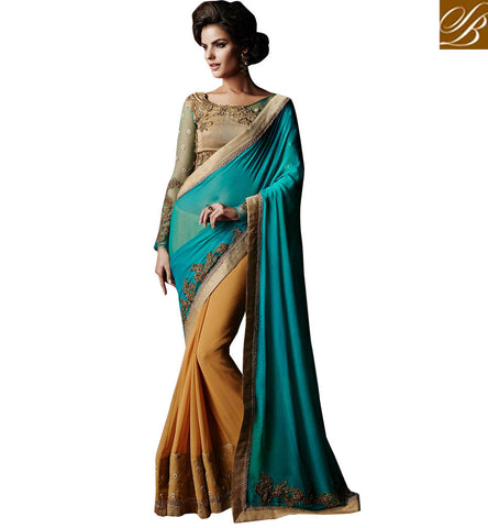 LATEST WEDDING WEAR SAREES COLLECTION WITH HEAVY WORK BLOUSE MATERIAL ANKM20