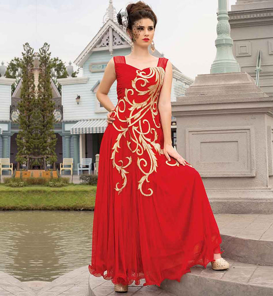 ATTRACTIVE WEDDING PARTY WEAR GOWN ONLINE SHOPPING INDIA FREE COD