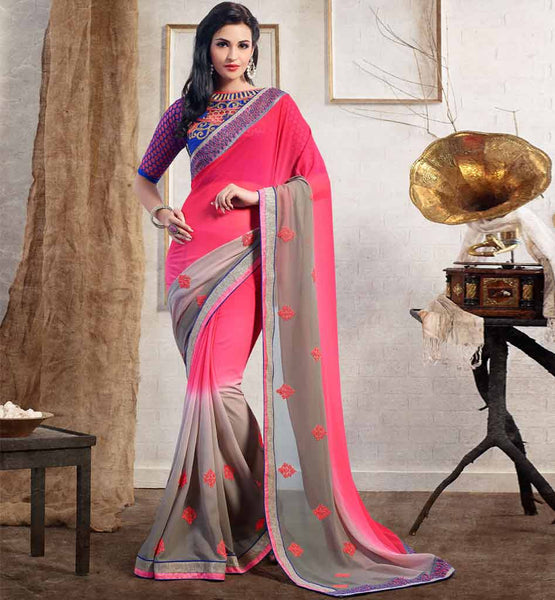 2015 SAREE BLOUSE DESIGN FOR ENGAGEMENT PARTY ONLINE SHOPPING INDIA