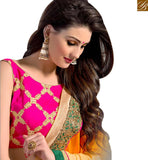 STYLISH BAZAAR LOVELY EMBROIDERED DESIGNER SARI FOR SPECIAL OCCASIONS VAR2104