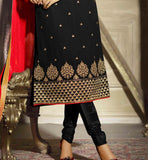 party wear georgette salwar kameez designs by stylish bazaar