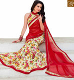 BROUGHT TO YOU BY STYLISH BAZAAR SUPERB DESIGNER CASUAL WEAR PRINTED SARI RTSHN2107