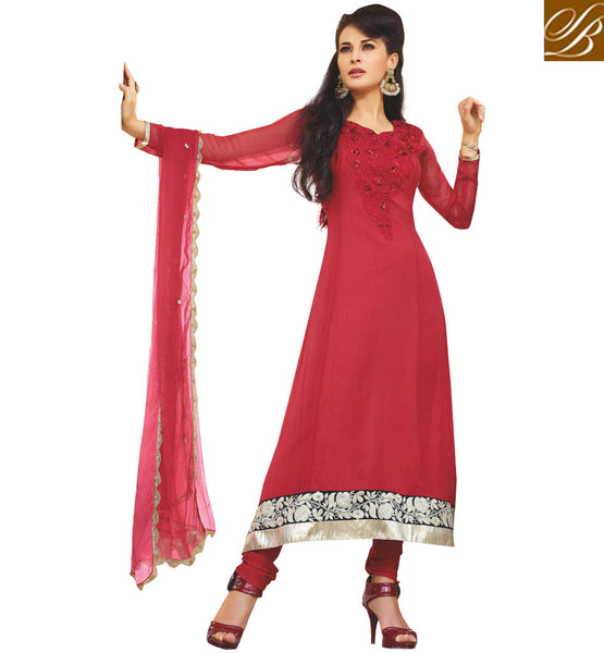 georgette salwar-kameez dress material for ladies