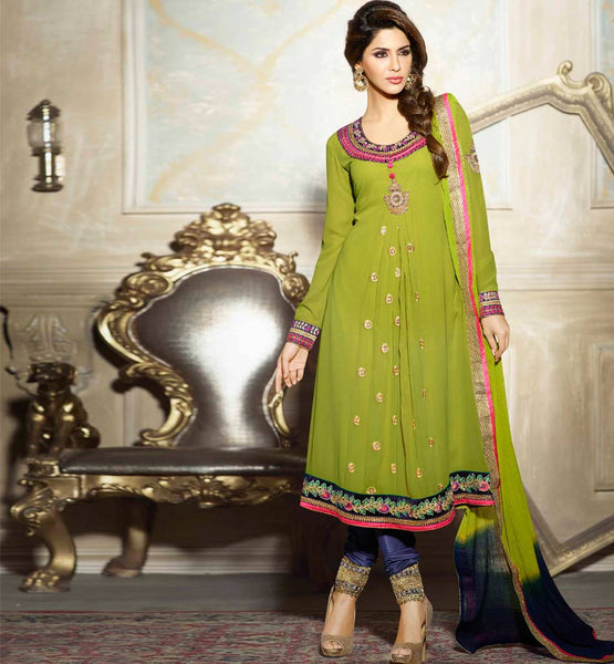 Desinger Indian Georgette ladies Salwar Kameez stylishbazaar