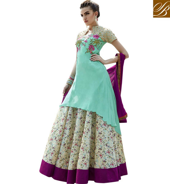 STYLISH BAZAAR GORGEOUS LEHENGA KAMEEZ DRESS SUIT DESIGN FOR WEDDING AND PARTY OCCASION ANIM2112