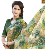 STYLISH BAZAAR INTRODUCES STYLISH MULTI COLORED PRINTED DESIGNER SAREE RTRNK2118