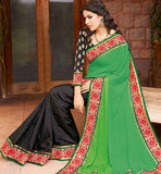 PARTY WEAR INDIAN SAREES AT BEST RATES PRICES STYLISHBAZAAR