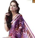 FROM STYLISH BAZAAR FLAWLESS MULTI COLORED PRINT WORK SAREE RTRNK2126