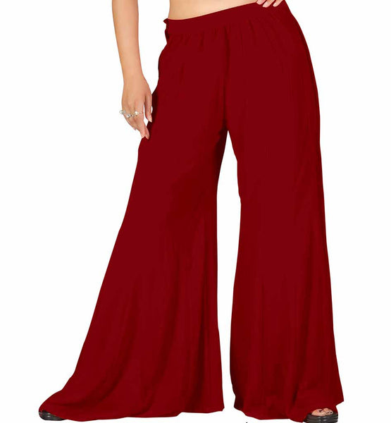 FARSHI TROUSERS FOR WOMEN ONLINE SHOPPING INDIA TRENDY PALAZZO SALWAR