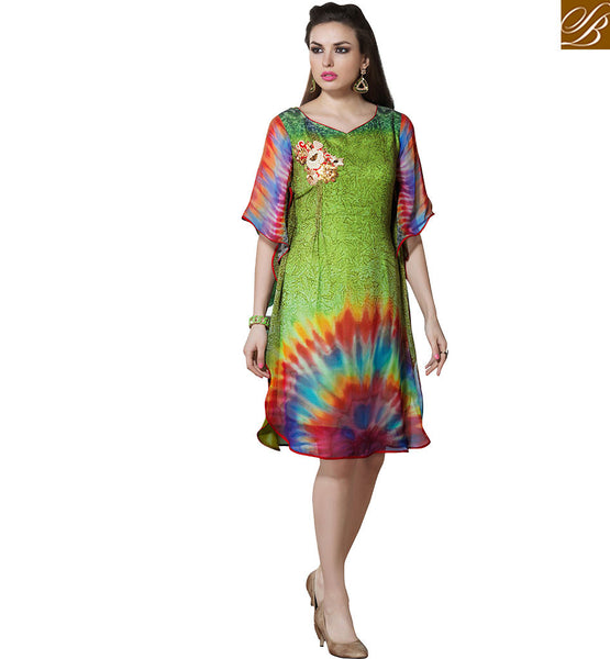 FROM STYLISH BAZAAR TRENDY DIGITAL PRINTED KURTI DESIGN VDSMM214
