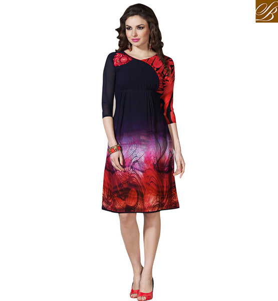 FROM THE HOUSE OF STYLISH BAZAAR FASHIONAL PARTY WEAR KURTI DESIGN VDSMM215