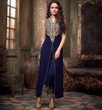 LATEST DESIGN PARTY WEAR GEORGETTE SALWAR SUIT 2204