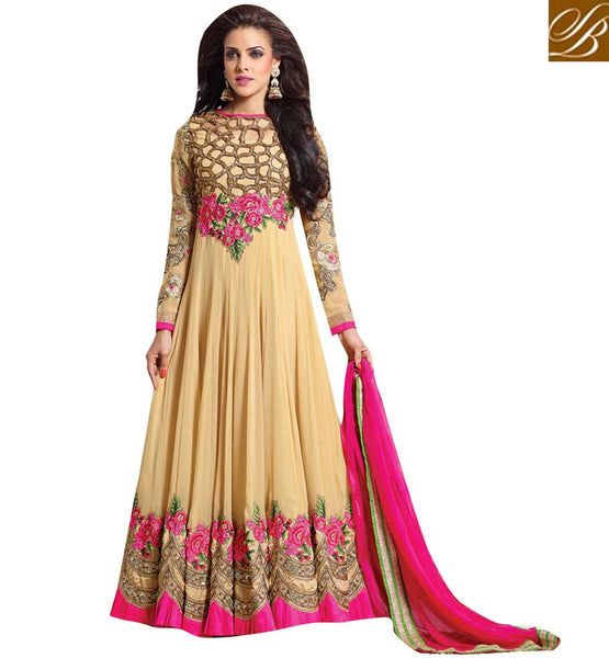 latest anarkali dress designs