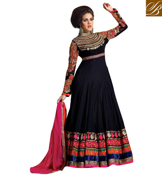 latest anarkali dress collection