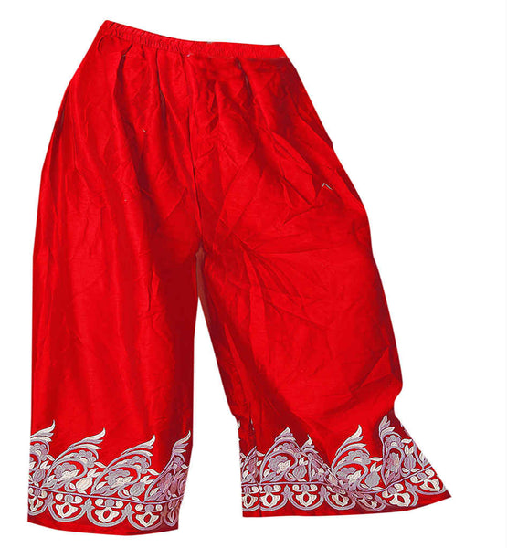 COMFORT FIT DESIGNER PALAZZO SALWAR PANTS FOR LADIES MALAI COTTON