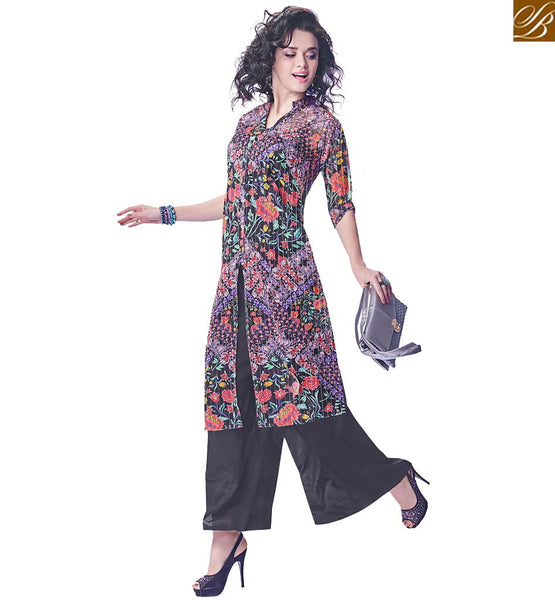 FROM THE TO YOU BY STYLISH BAZAAR AMAZING FLOWERY DESIGN PRINTED KURTI RTINW225