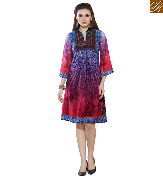 STYLISH BAZAAR PRESENTATION CLASSY PARTY WEAR KURTI DESIGN VDSMM226