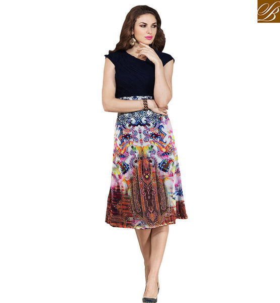 STYLISH BAZAAR INTRODUCES CUTE KURTI DESIGN ESPECIALLY FOR PARTIES VDSMM228