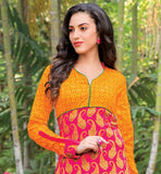 LOOK FABULOUS AT YOUR WORK PLACE WITH THIS EXCITING TUNIC LONG KURTIS PATTERNS STYLISH FULL SLEEVE PRINTED TOP