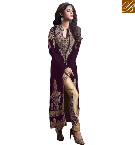 STYLISH BAZAAR TRENDY HEAVY DESIGNER INDO WESTERN STYLE PARTY AND WEDDING WEAR  SALWAR KAMEEZ DRESS SUIT MSH23002