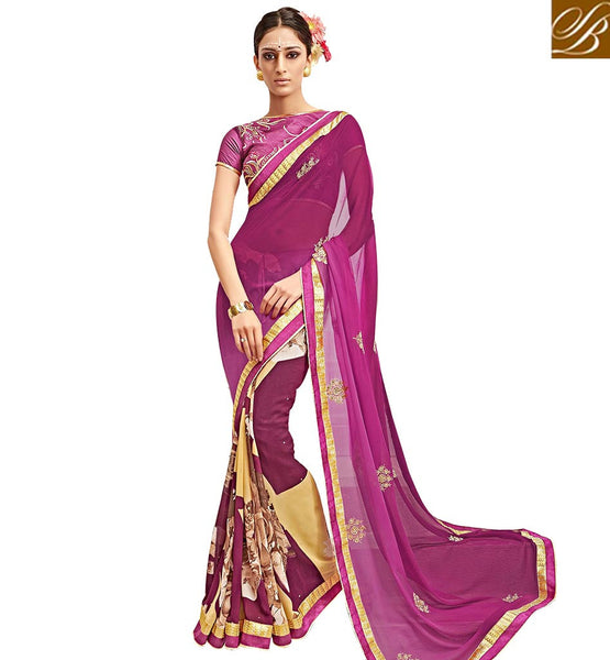 STYLISH BAZAAR MAGNIFICENT DESIGNER SAREE ONLINE RTARL23006
