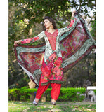 COTTON PRINTED & EMBROIDERED SALWAR KAMEEZ GLCT2312 - StylishBazaar - buy Anarkali Dress online, anarkali dress online shopping in india, buy anarkali suits online, anarkali dress designs, latest designer anarkali suits