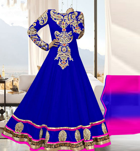 DESIGNER PARTY WEAR ANARKALI SALWAR KAMEEZ ONLINE SHOPPING IN INDIA