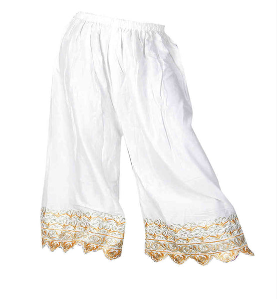 BUY FASHIONABLE WOMEN FLARED PALAZZO TROUSER SALWAR STRETCHABLE WAIST