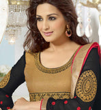 Sonali bendre in black anarkli