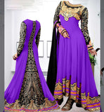 Faux georgette salwar suits India