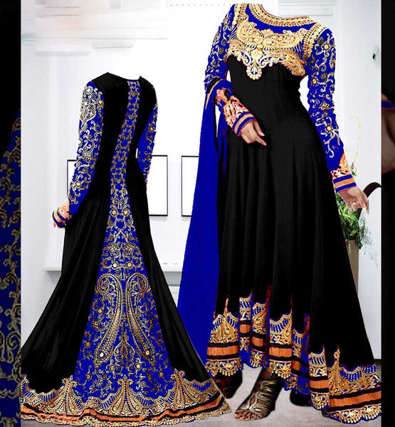 latest floor lenght anarkali salwar suits designs