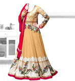 GEORGETTE PARTY WEAR ANARKALI DRESS BY STYLISHBAZAAR
